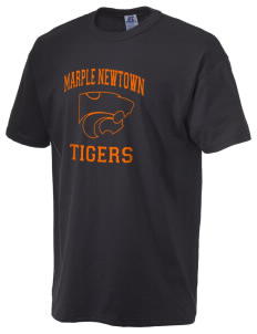 Marple Newtown High School Tigers  Russell Men's NuBlend T-Shirt