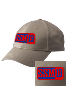 South Saint Marys Elementary School Dutchmen  Embroidered New Era Adjustable Structured Cap