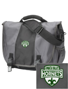 Juniata Valley High School Hornets  Embroidered Montezuma Messenger Bag