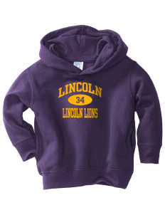 Lincoln Elementary School Lincoln Lions  Toddler Fleece Hooded Sweatshirt with Pockets