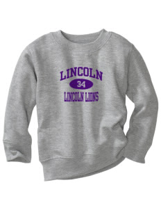 Lincoln Elementary School Lincoln Lions Toddler Crewneck Sweatshirt