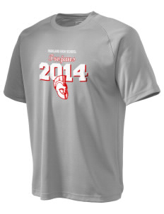 Parkland High School Trojans Men's Dry Zone Short Sleeve Raglan T-Shirt