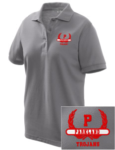 Parkland High School Trojans Women's Embroidered Silk Touch Polo