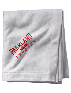 Parkland High School Trojans  Sweatshirt Blanket