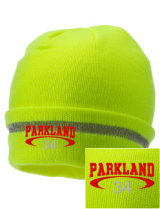 Parkland High School Trojans  Embroidered Safety Beanie with Reflective Stripe