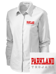 Parkland High School Trojans Embroidered Women's Classic Oxford