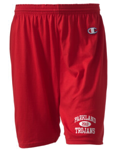 "Parkland High School Trojans  Champion Women's Gym Shorts, 6"" Inseam"