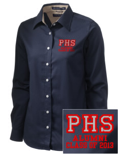 Parkland High School Trojans  Embroidered Women's Pima Advantage Twill