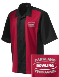 Parkland High School Trojans Men's Embroidered Retro Camp Shirt
