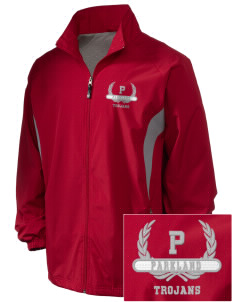 Parkland High School Trojans Embroidered Holloway Men's Full-Zip Jacket