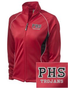 Parkland High School Trojans Embroidered Holloway Women's Spirit Full-Zip Warm Up Jacket