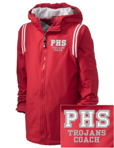 Parkland High School Trojans Embroidered Holloway Kid's Titan Hooded Jacket