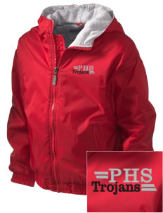 Parkland High School Trojans Embroidered Holloway Kid's Triumph Hooded Jacket