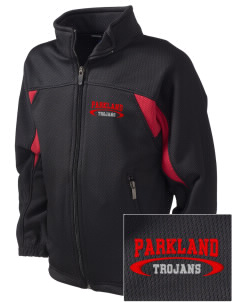 Parkland High School Trojans Embroidered Holloway Kid's Impact Full-Zip Track Jacket