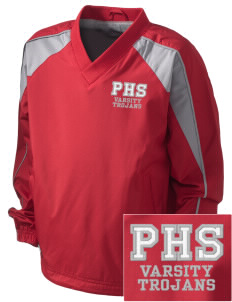 Parkland High School Trojans Embroidered Holloway Kid's Victory Warm Up