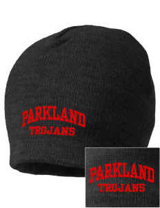 Parkland High School Trojans Embroidered Beanie