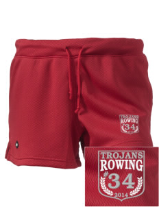 "Parkland High School Trojans Embroidered Holloway Women's Balance Shorts, 3"" Inseam"