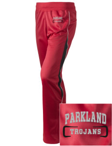 Parkland High School Trojans Embroidered Holloway Women's Motion Warm Up Pants