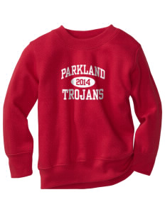 Parkland High School Trojans Toddler Crewneck Sweatshirt
