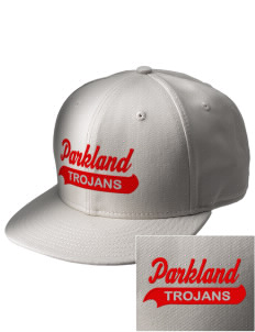 Parkland High School Trojans  Embroidered New Era Flat Bill Snapback Cap