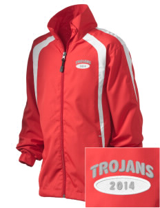 Parkland High School Trojans Embroidered Kid's Color Block Jacket
