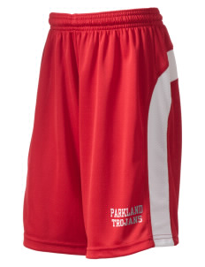 Parkland High School Trojans Kid's Dry Zone Colorblock Shorts