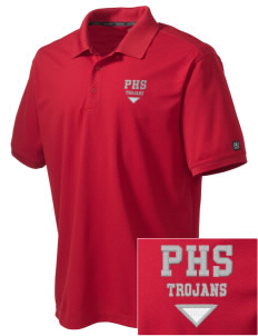 Parkland High School Trojans Embroidered OGIO Men's Caliber Polo