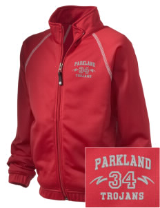 Parkland High School Trojans Embroidered Holloway Kid's Attitude Warmup Jacket
