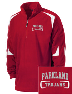 Parkland High School Trojans Holloway Embroidered Men's Torch Fleece 1/4-Zip Warmup Jacket