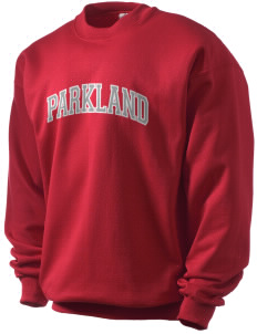 Parkland High School Trojans Men's Crewneck Sweatshirt