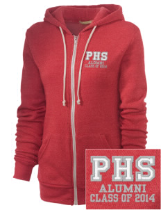 Parkland High School Trojans Embroidered Alternative Unisex The Rocky Eco-Fleece Hooded Sweatshirt