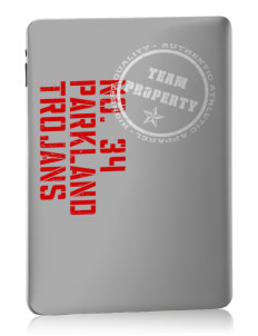 Parkland High School Trojans Apple iPad Skin