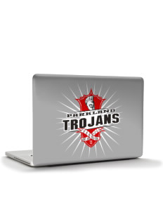 "Parkland High School Trojans Apple MacBook Pro 15"" & PowerBook 15"" Skin"