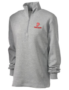 Parkland High School Trojans Embroidered Women's 1/4 Zip Sweatshirt