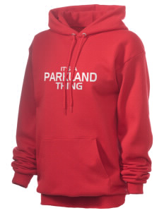 Parkland High School Trojans Unisex 7.8 oz Lightweight Hooded Sweatshirt