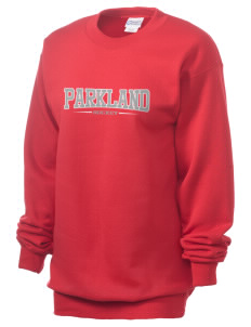 Parkland High School Trojans Unisex 7.8 oz Lightweight Crewneck Sweatshirt