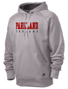 Parkland High School Trojans  Russell Men's Fusion Tech Hooded Sweatshirt