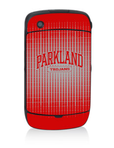 Parkland High School Trojans Black Berry 8530 Curve Skin