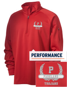 Parkland High School Trojans Embroidered Men's Tech Fleece 1/4 Zip Pullover