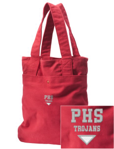 Parkland High School Trojans Embroidered Alternative The Berkeley Tote