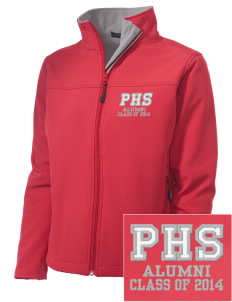 Parkland High School Trojans Embroidered Women's Soft Shell Jacket