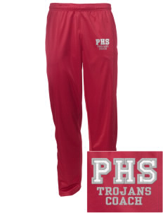 Parkland High School Trojans Embroidered Men's Tricot Track Pants
