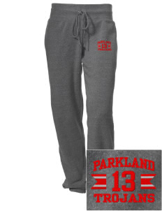 Parkland High School Trojans Embroidered Alternative Women's Unisex 6.4 oz. Costanza Gym Pant