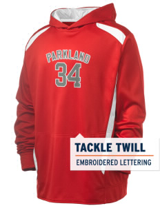 Parkland High School Trojans Holloway Men's Hype Performance Hooded Sweatshirt with Tackle Twill