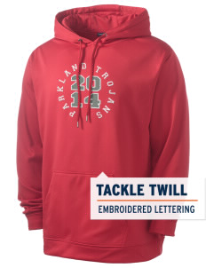 Parkland High School Trojans Men's Sport-Wick Fleece Hooded Pullover with Tackle Twill