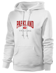 Parkland High School Trojans Russell Women's Pro Cotton Fleece Hooded Sweatshirt
