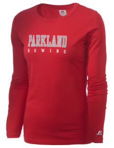 Parkland High School Trojans  Russell Women's Long Sleeve Campus T-Shirt
