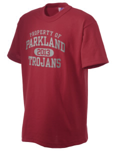 Parkland High School Trojans Russell Kid's NuBlend T-Shirt