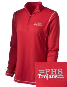 Parkland High School Trojans Embroidered Holloway Women's Condition Training Warm-Up Jacket