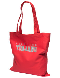 Parkland High School Trojans Canvas Tote